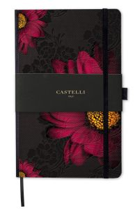 Notes Castelli Milano - Midnight Floral Gerbera