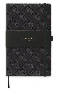 Notes Castelli Milano - Copper & Gold Art Deco Gold